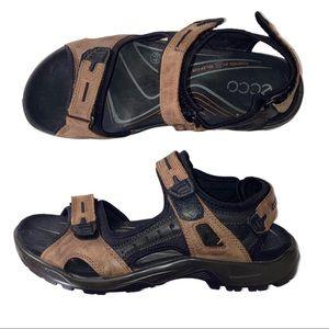 Ecco Yucaton. Sandals 45 12 Brown